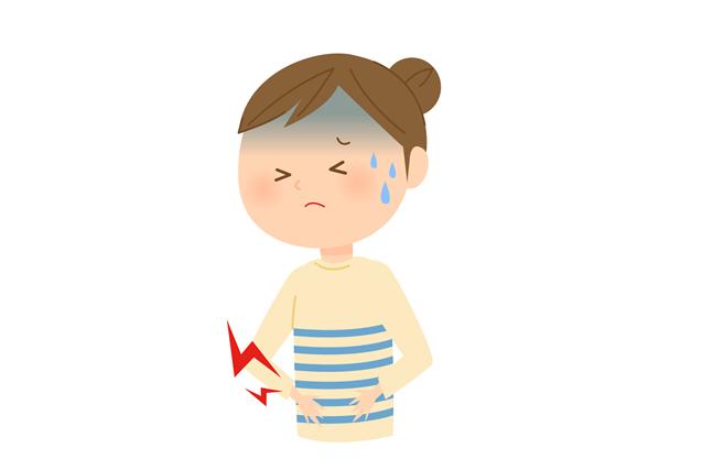目 生理 5 腹痛 日