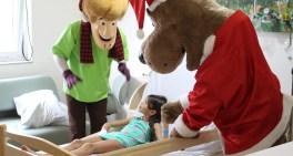 Hospital Sabará realiza ações de Natal para crianças internadas
