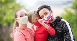 Crianças também devem usar máscaras