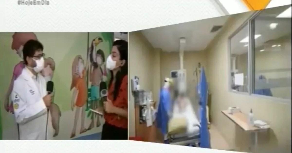 Especialista fala sobre doenças respiratórias em link do Hoje em dia – TV Record