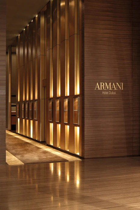World S First Armani Hotel Unveiled In Burj Khalifa Dubai