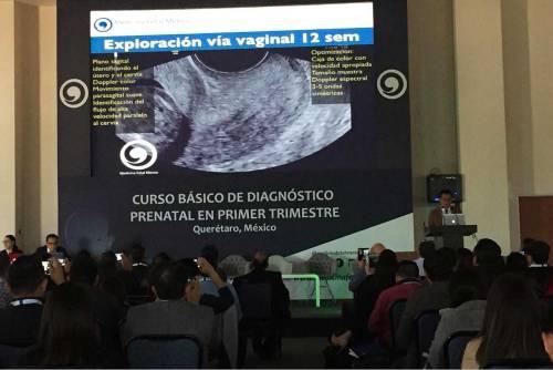 Imparten Curso Básico de Diagnóstico Prenatal en el HSJQRO