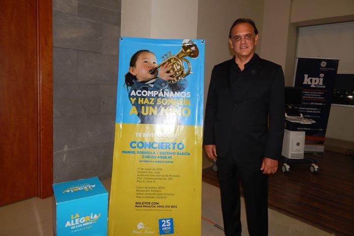 Gran concierto de gala a beneficio de La Alegría de los Niños en el Hospital San José de Querétaro