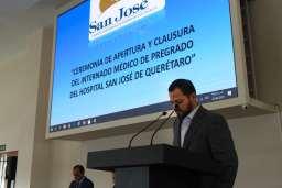 Hospital San José de Querétaro da la bienvenida a integrantes del Internado Médico de Pregrado