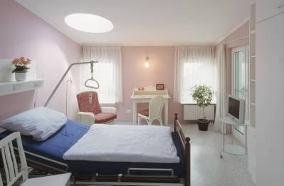 Zimmer für Hospizgast