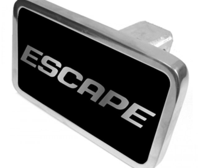 Ford Escape Trailer Hitch Cover