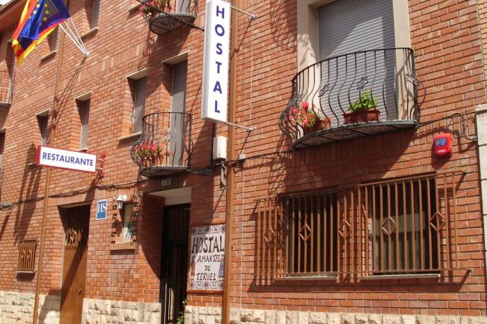 4bd763381d894 Alojamiento en Teruel Económico • Hostal Amantes de Teruel
