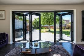 Living room bi-fold doors