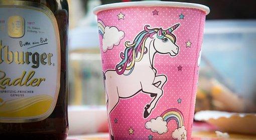 unicorn unicorn paper cups
