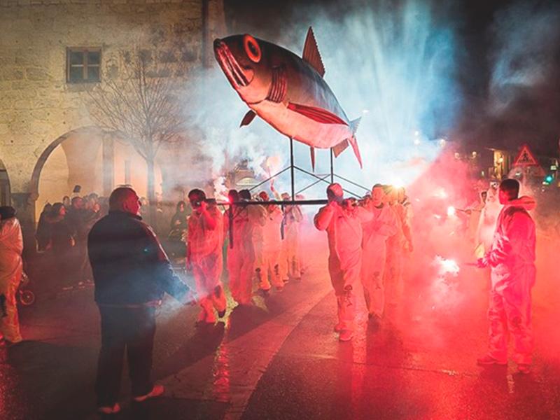 Carnavales y entierro de la Sardina