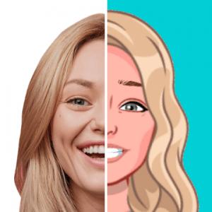 Mirror Moji Maker, Emoji Sticker Keyboard, Makeup