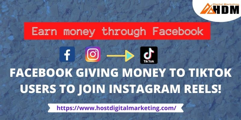Facebook giving money to TikTok users to join Instagram Reels!