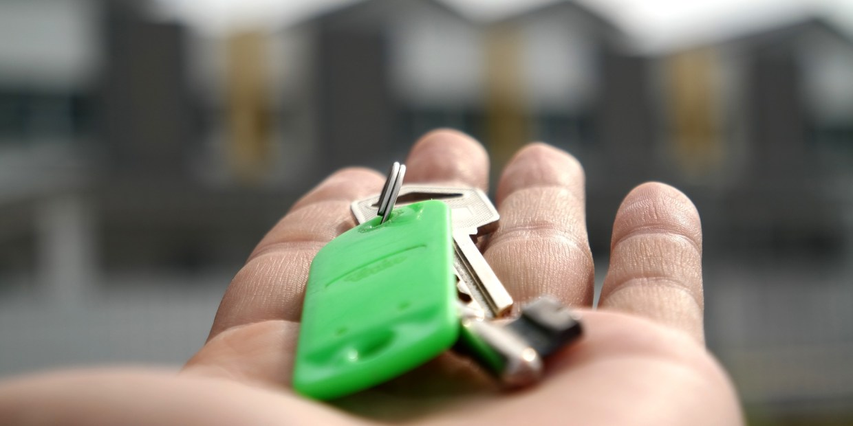 a key to a house