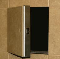 tile access door