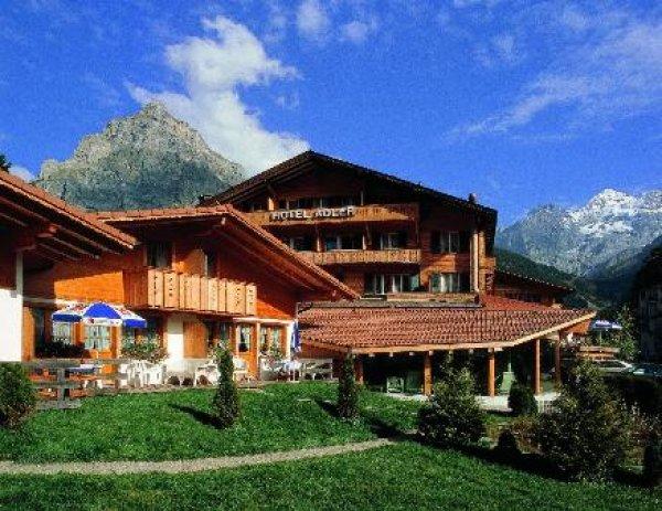 Chalet Hotel Adler Kandersteg Switzerland