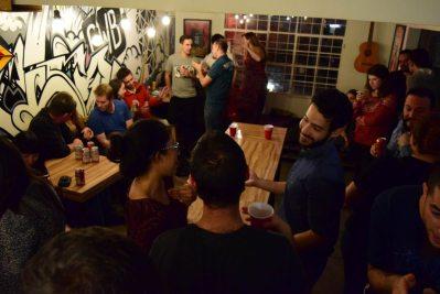 Hostel Social beer Pong 30
