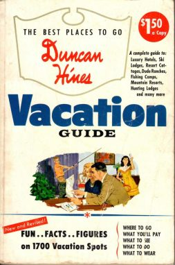 Duncan Hines and the lost history of travel guidebooks
