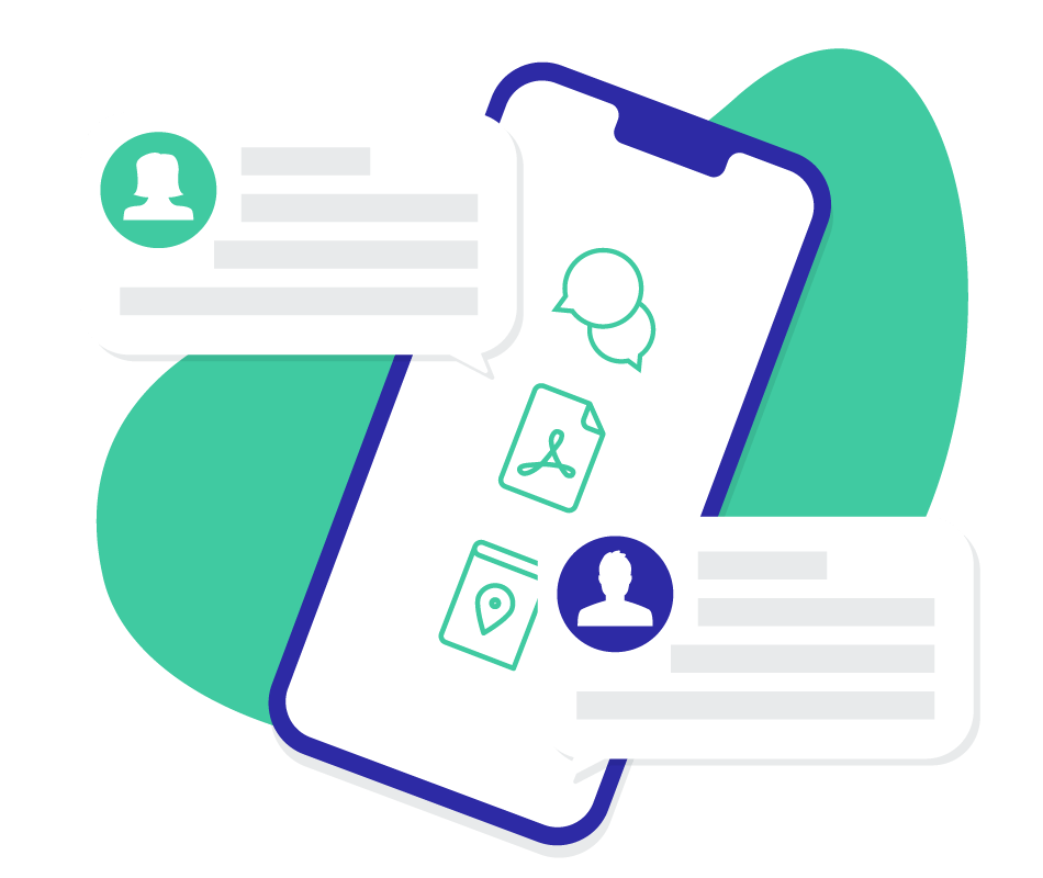 Reduce in-person meetings for check-in