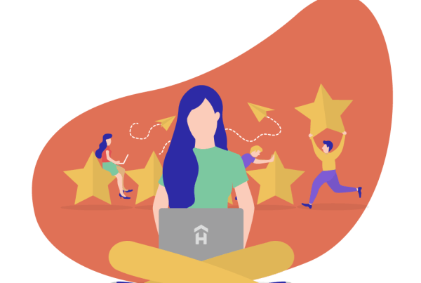 leave an airbnb host review with a template