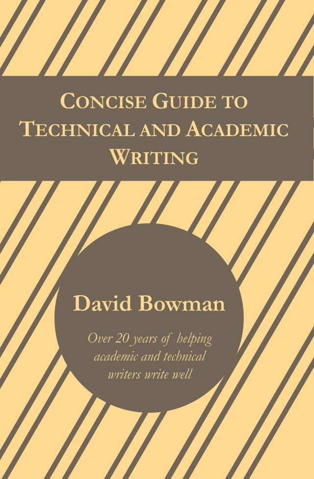 Concise Guide to Technical and Academic Writing – Hostile Editing