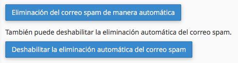 eliminar spam de manera automatica