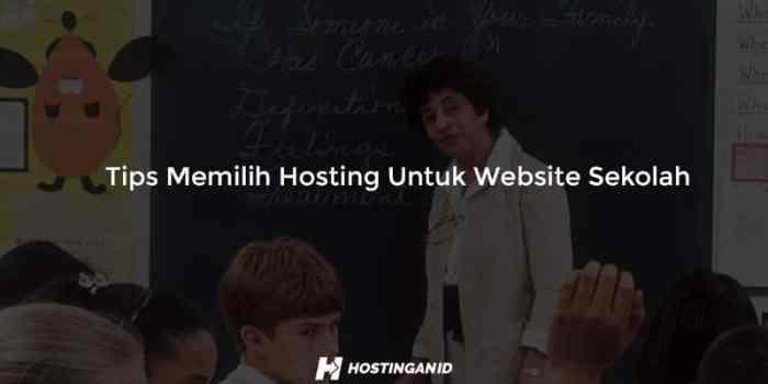 Tips Memilih Hosting Untuk Website Sekolah