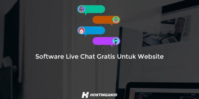 Software Live Chat Gratis Untuk Website