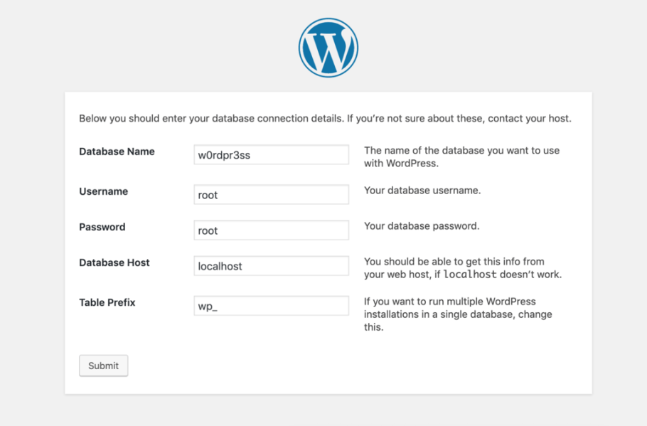 This is how you install WordPress on MAMP.