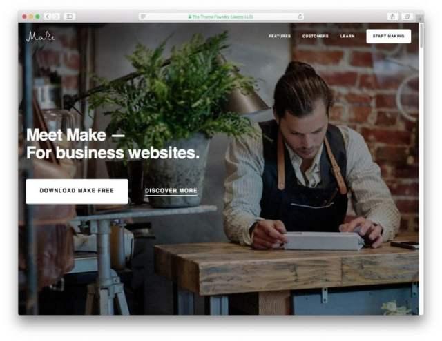 Make theme demo page.