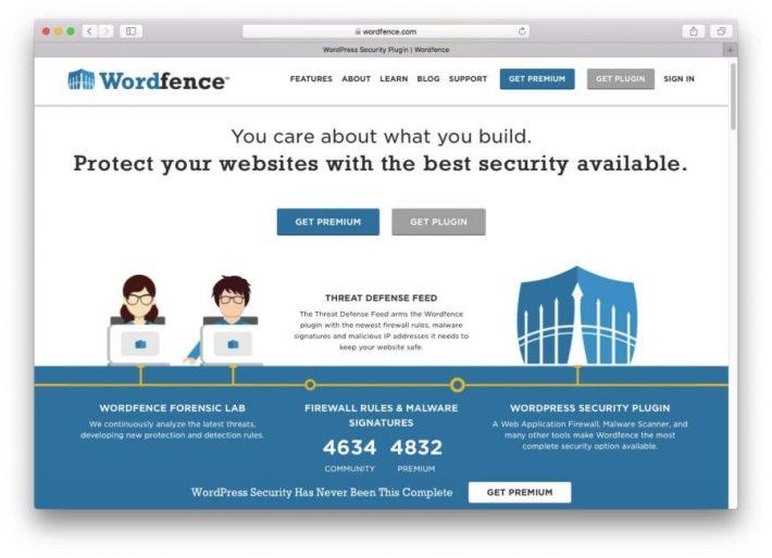 WordFence Eklentisi