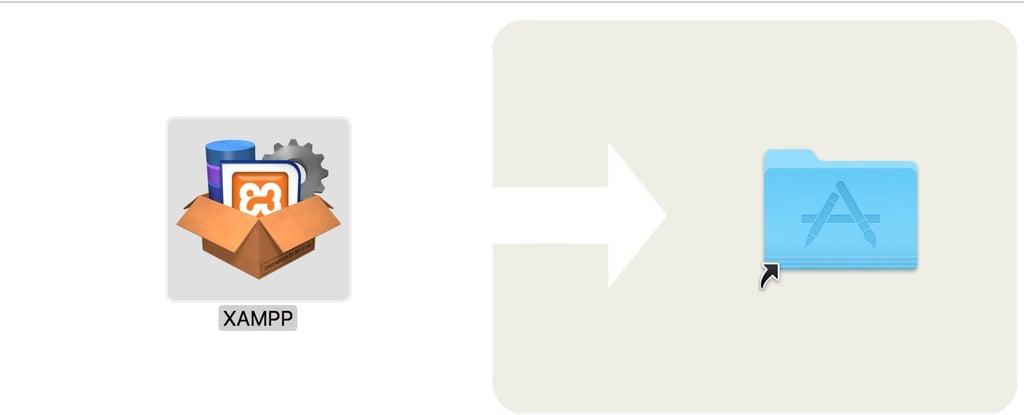 XAMPP drag to Applications Folder
