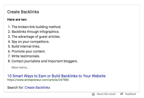 contoh grafik pengetahuan google