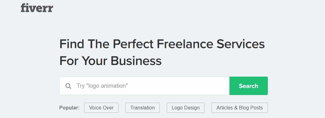 Fiverr freelance opportunity