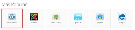 Instalar WordPress CMS con el instalador automático de Hostinger