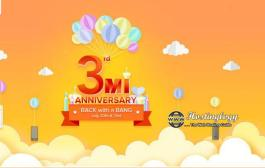 Re 1 Flash Sale With Mi 3rd Anniversary Sale