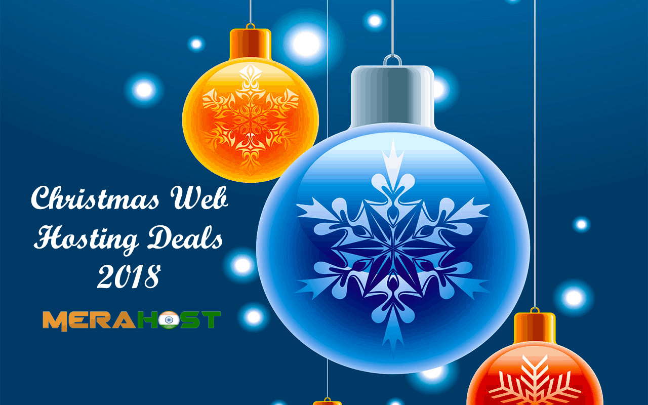 Christmas Web Hosting Deals 2018 on MeraHost