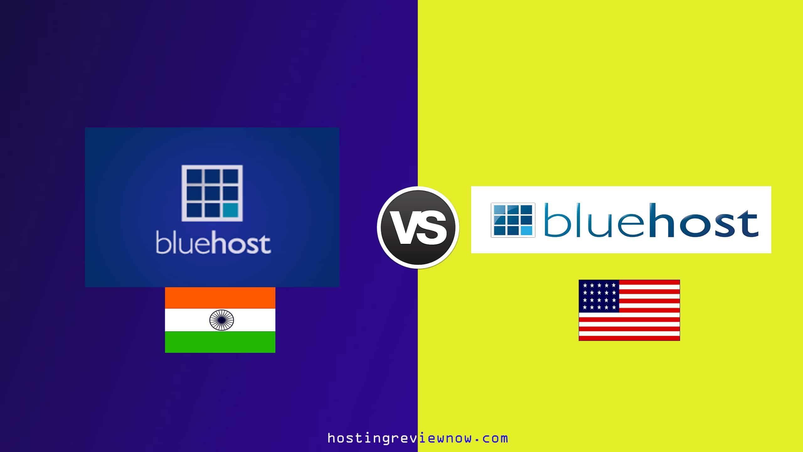 Bluehost india vs bluehost us