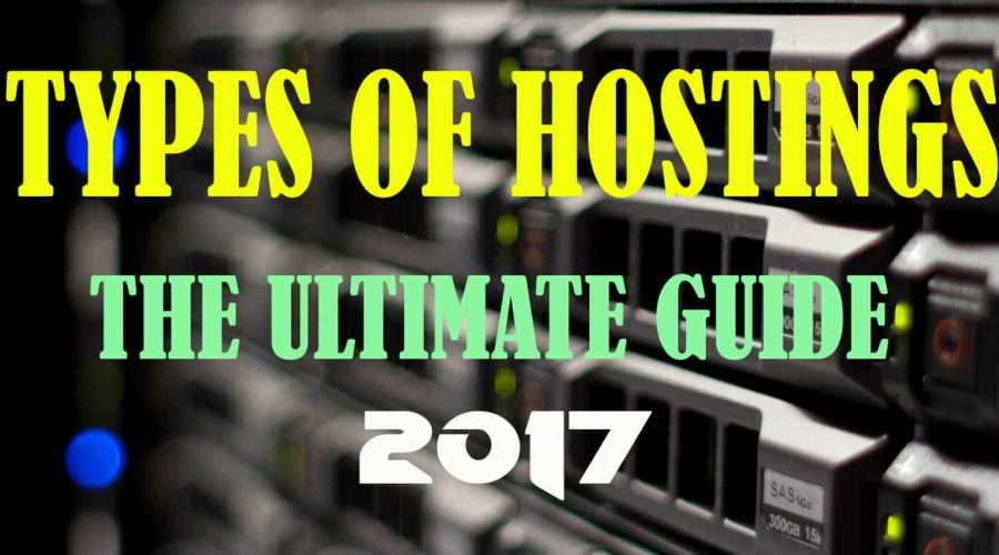 The Ultimate Guide to Different Types Of web  Hosting