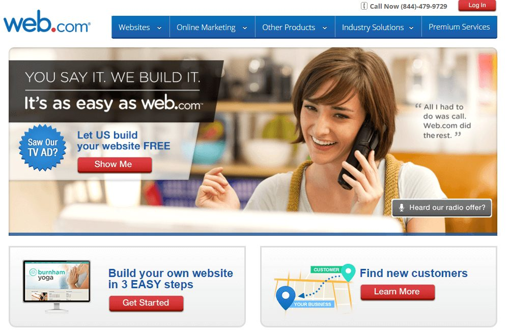 Web.com Hosting Review 2017