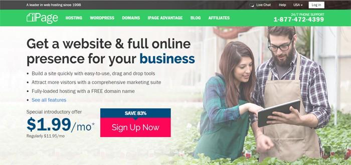 ipage cheap wordpress host