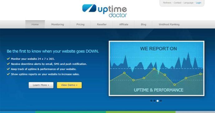 Uptimedoctor best uptime service 2017