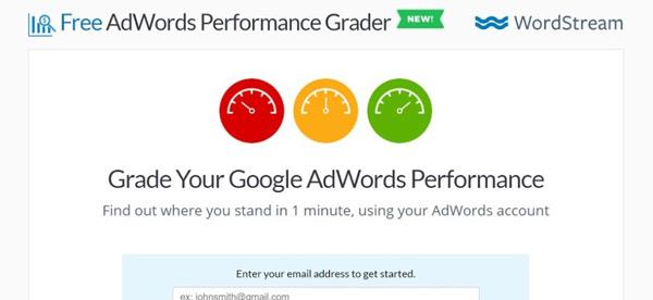 AdWards Performance Grader