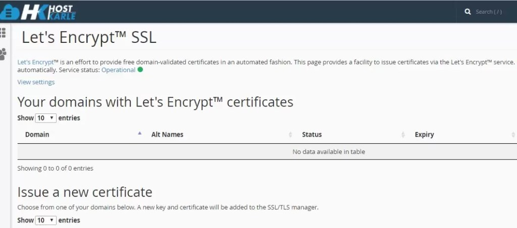 How to install let's encrypt