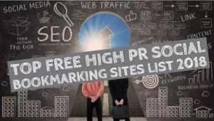 Top Free High PR Social Bookmarking Sites List 2018