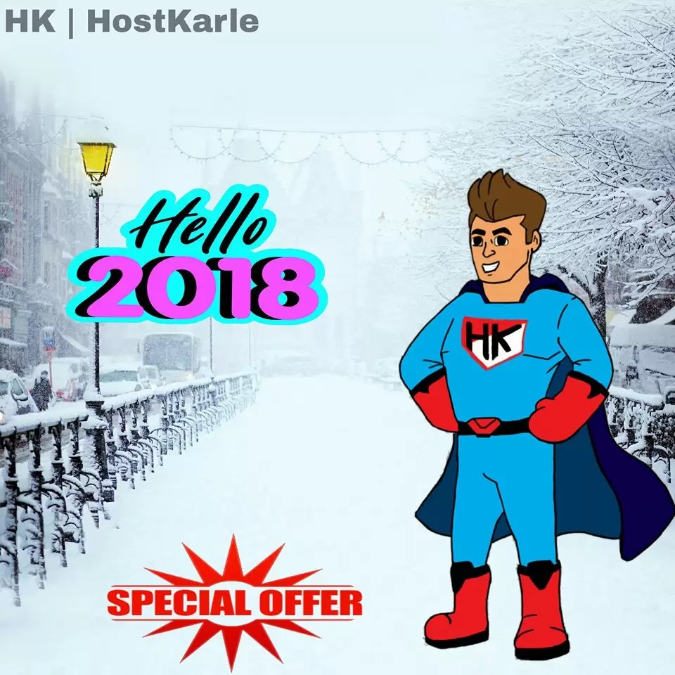 hostkarle new year offers