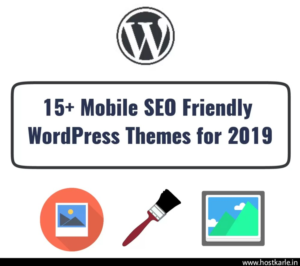 15 mobile seo friendly wordpress themes for 2019 hostkarle. Black Bedroom Furniture Sets. Home Design Ideas