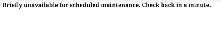 How To Fix WordPress Scheduled Maintenance Error 2019