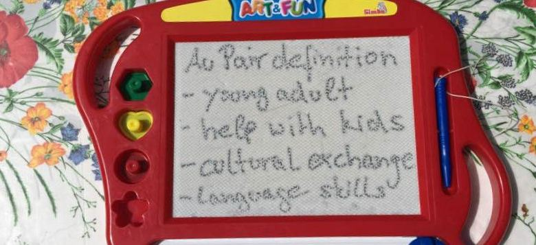 Au Pair meaning and definition