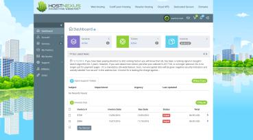HostNexus Connect Client Portal