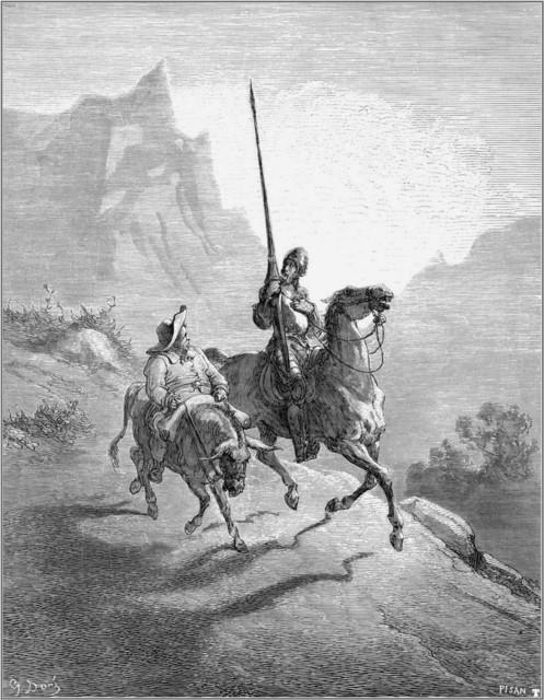 Gustave Doré, Don Quixote & Sancho Pansa